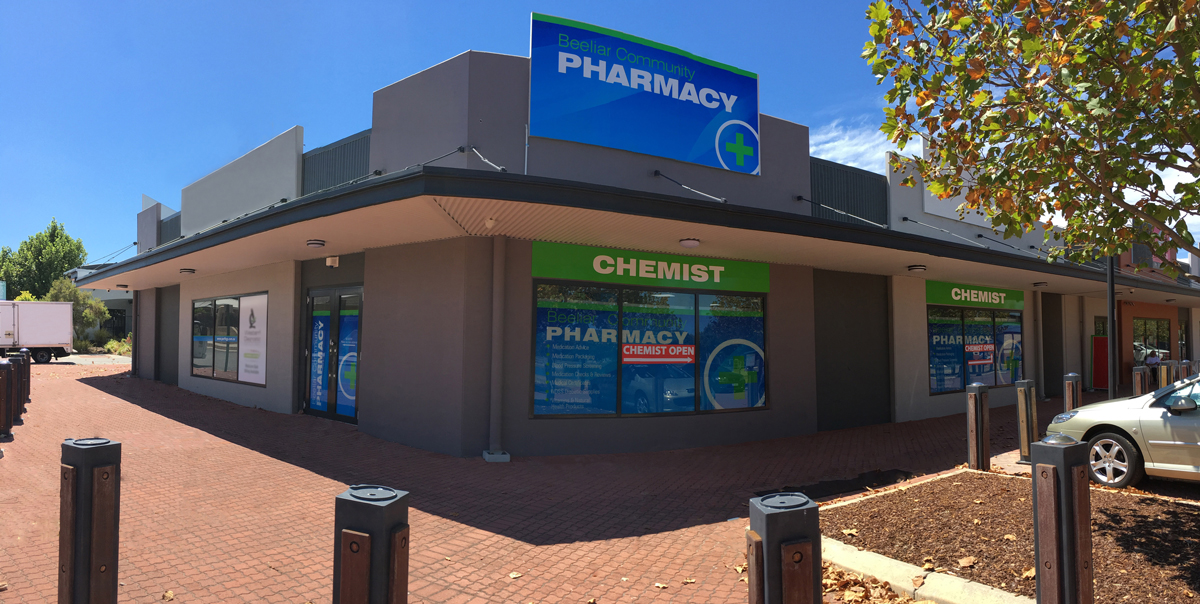 beeliar community pharmacy store front